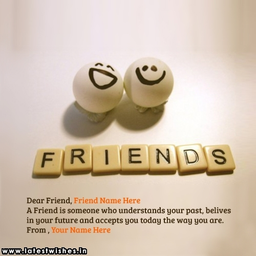 happy Friendship day Wishes for Special Friend with Name pics
