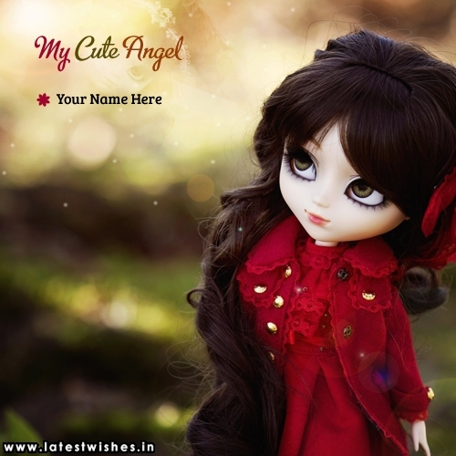 My Cute Angel Doll Name Picture