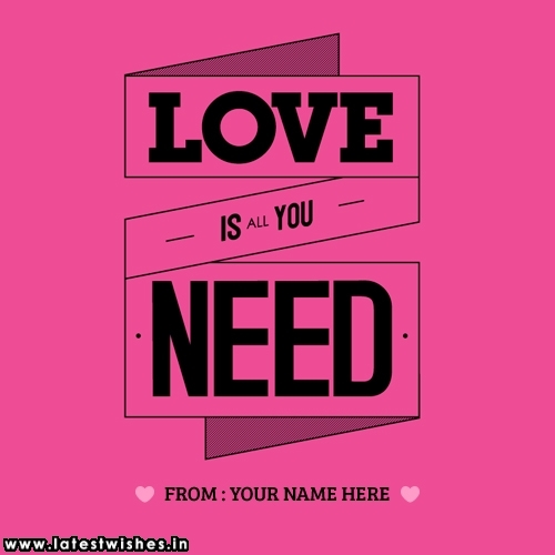 Love Quotes with Name Picture