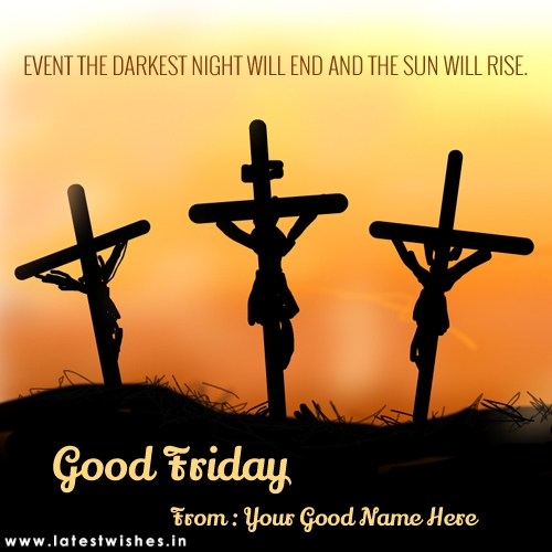 Good Friday Quotes With Jesus Image