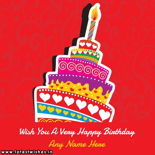 Wish You A Very Happy Birthday With Name Pictures