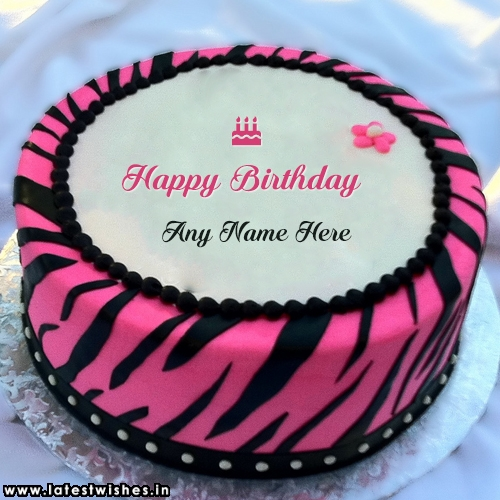 Happy Birthday Cakes For Girls: Birthday Cake With Name Edit