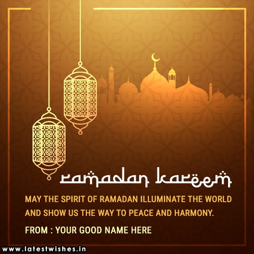 Ramadan Kareem wishes and greetings message