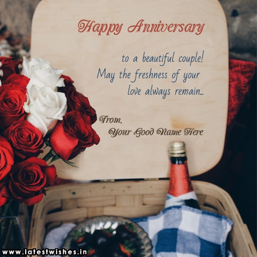 Happy Anniversary to Beautiful couple
