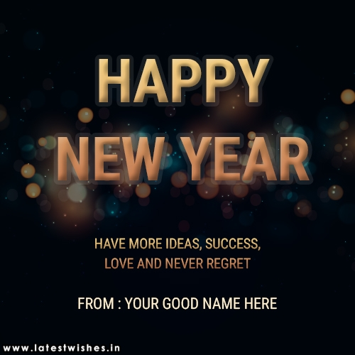 Happy New Year Success wishes image