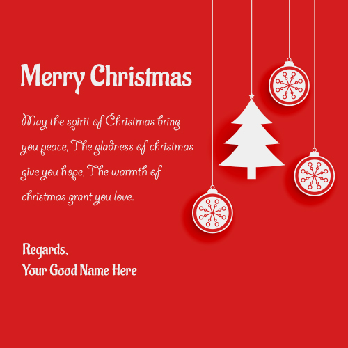Merry Christmas Greeting card Sayings